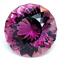 Simple Portuguese gem design - cut rubellite