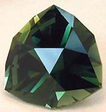Forest green Tourmaline Warrior