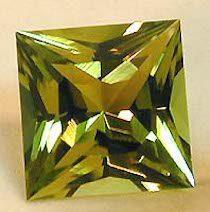 1.94 carat yel/grn Tourmaline