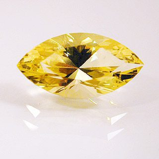 Marquise Cut Yellow Beryl