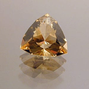 Trilliant Cut Golden Beryl-Heliodor