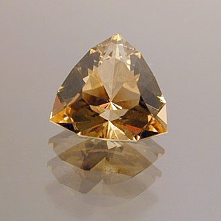 Trilliant Cut Golden Beryl-Heliodor, Not Sure, 0.90 cts