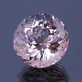 Portuguese Round Cut Morganite Beryl, Brazil, 7.54 cts