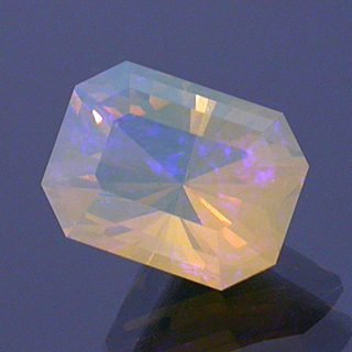 Barion Emerald Cut Opal