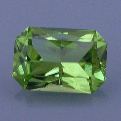 Radiant Emerald Cut Peridot, Pakistan, 1.73 cts