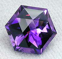 Honey cut in Urguayan Amethyst