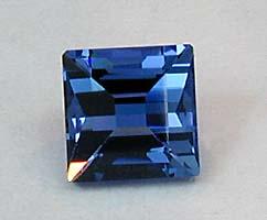 Tanzanite step cut