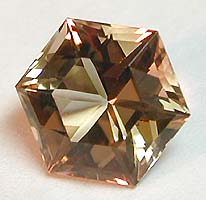 Guerro Topa hexagon/topaz facet