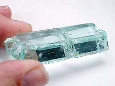aquamarine rough - rough gemstone value