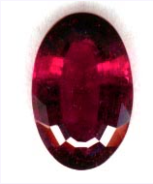 rubellite buying guide - oval cut
