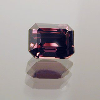 Emerald Shape Cut Color Change Sapphire, Africa, 0.91 cts