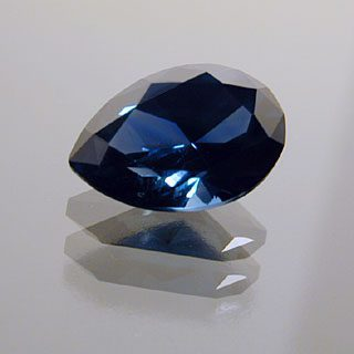 Oval End Pear Cut Sapphire, Africa, 1.45 cts