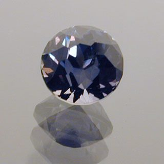 Mini Portuguese Round Cut Color Change Sapphire, Africa, 0.59 cts