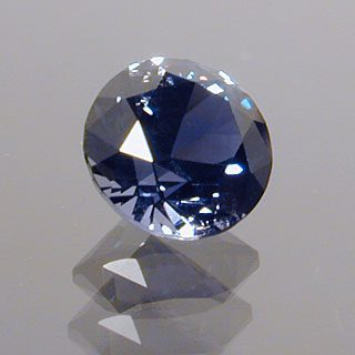 Round Brilliant Cut Sapphire, Africa, 0.52 cts