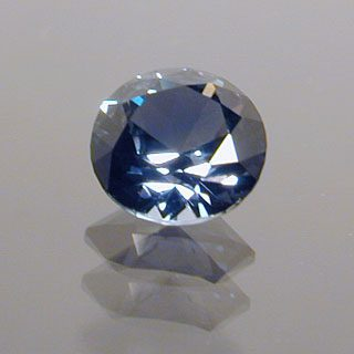 Round Brilliant Cut Sapphire, Africa, 0.54 cts