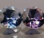 Round Brilliant Cut Sapphire Color Suite