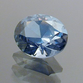 Brilliant Oval Cut Sapphire, Africa, 0.86 cts
