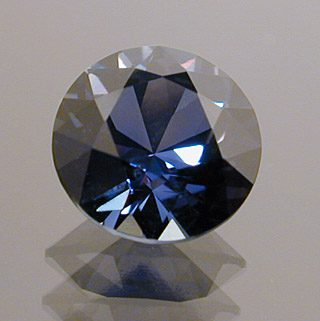 Round Brilliant Cut Color Change Sapphire, Africa, 1.10 cts