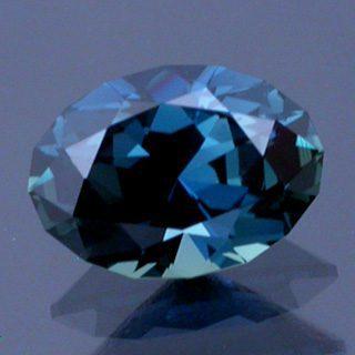 Brilliant Oval Cut Sapphire
