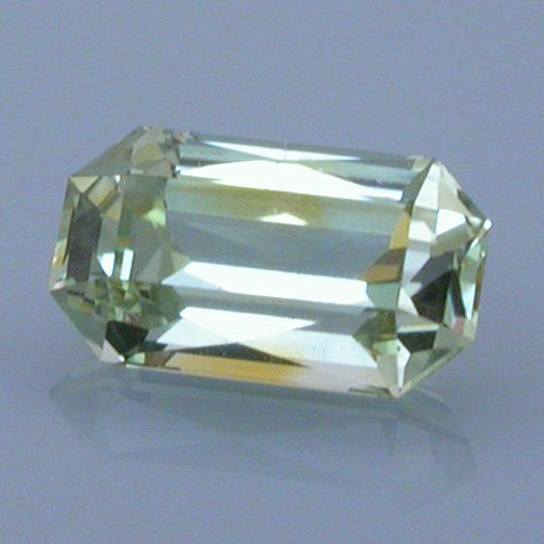 Scissor Topped Emerald Cut Sapphire, Montana, 0.69 cts