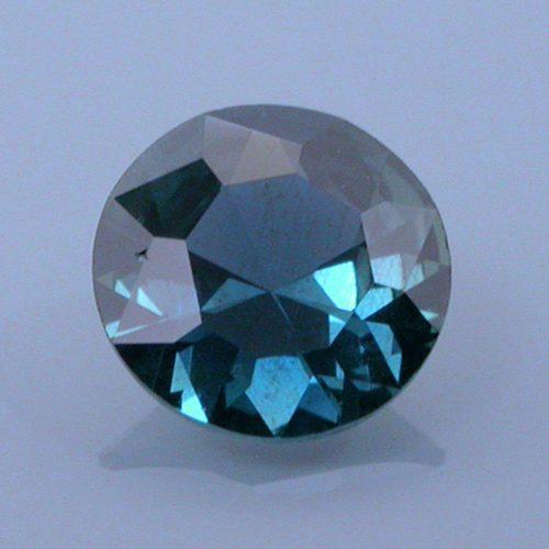 Fancy Round Brilliant Cut Sapphire, Tanzania, 0.43 cts
