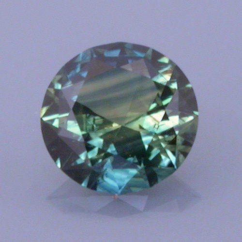 Round Brilliant Cut Sapphire, Australia, 0.43 cts