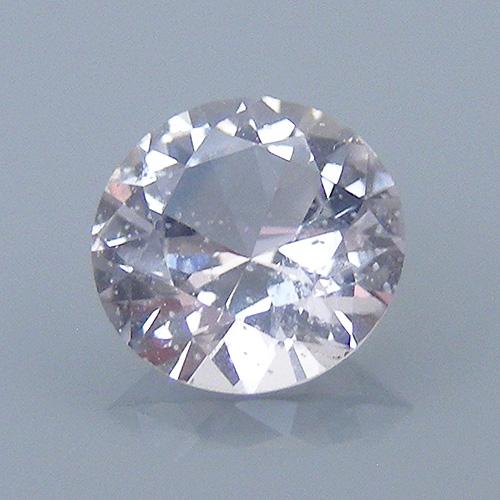 round brilliant sapphire - tilt brightness