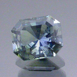 Rectangular Barion Cut Sapphire