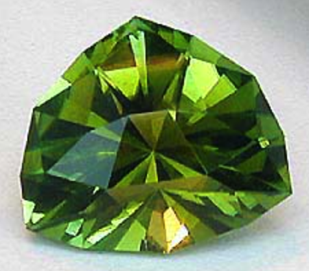 samurai cut tourmaline - cutting gems for the best color