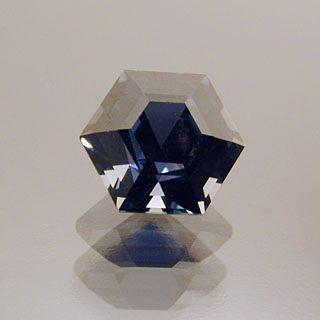 Hexagon Cut Sapphire, Africa, 0.80 cts