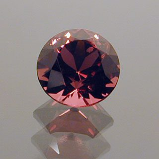 Round Brilliant Cut Spinel, Probably Burmese, 0.39 cts