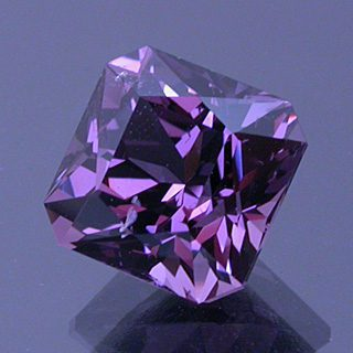 Fancy Square Brilliant Cut Spinel, Tanzania, 2.47 cts
