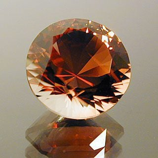 12 Main Round Brilliant Cut Sunstone, Oregon, 1.83 cts