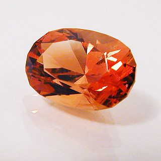 Oval Cut Sunstone, Oregon, 1.87 cts