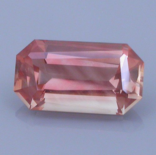 Twisted Top Emerald Cut Oregon Sunstone