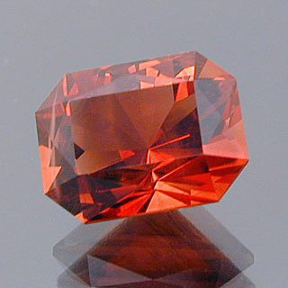Rectangular Brilliant Cut Sunstone