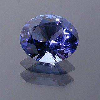 Brilliant Oval Cut Tanzanite