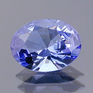 Brilliant Oval with Supernova Crown Cut Tanzanite, Tanzania, 1.53 cts