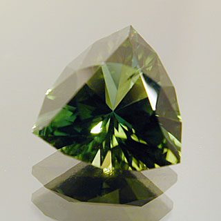 Trilliant Cut Tourmaline, Afghanistan, 1.51 cts