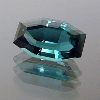 Modified Octagon Cut Tourmaline, Mozambique, 1.77 cts
