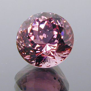 Portuguese Round with Round Brilliant Crown Cut Tourmaline, Nigeria, 3.54 cts