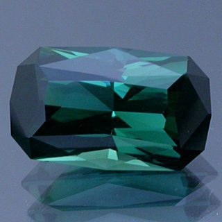 Radiant Cushion Emerald Cut Bi-Color Tourmaline, Congo, 1.87 cts