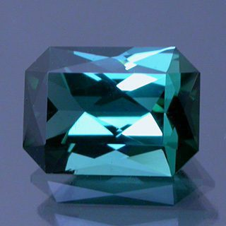 Scissor Emerald Cut Tourmaline