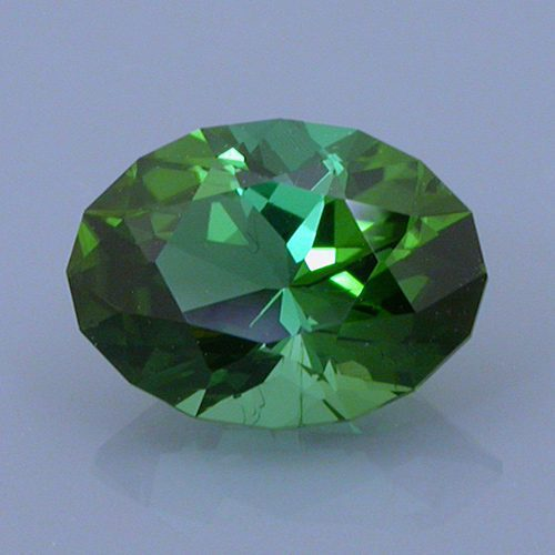 Fancy Brilliant Oval Cut Tourmaline, Oyo Mines, Nigeria, 1.14 cts