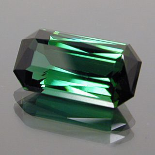 Fancy Emerald Shape with Scissors Cut Crown Cut Tourmaline, Afghanistan, 5.01 cts