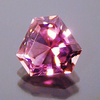 Barion Cut Cornered Triangle Cut Tourmaline, Mozambique, 1.44 cts