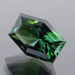 Elongated Barion Hexagon Cut Tourmaline, Africa, 2.46 cts