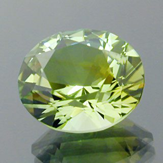 Brilliant Oval with Supernova Crown Cut Tourmaline, Africa, 5.92 cts