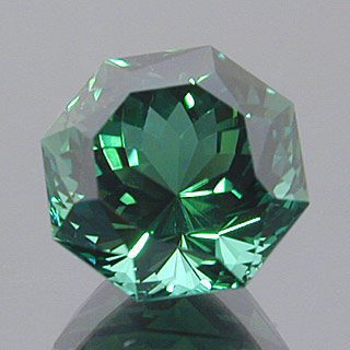Fancy Portuguese Octagon Cut Namibian Tourmaline, Namibia, 3.43 cts