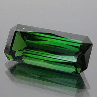 Elongated Scissor Topped Emerald Cut Cut Namibian Tourmaline, Namibia, 4.98 cts